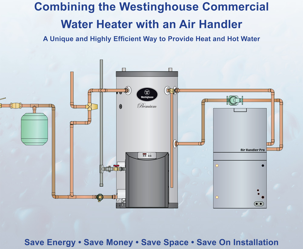 Westinghouse High Efficiency Stainless Steel Commercial ...